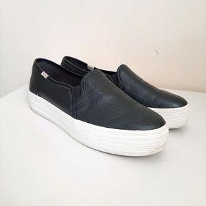 Keds x kate spade NY Triple Decker Leather Shoes